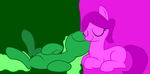mlp oc Slimey and Malina by november123456789066