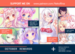 Patreon October 2018 preview by Neko-Rina