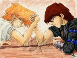 Arm Wrestling by Animaker131