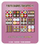 Retro Shapes Set 1 - Textures by snwgames