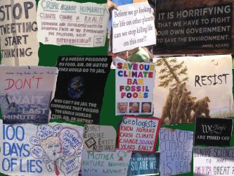 Climate March Collage by diddles25