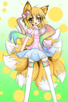 Ran and frills by Vulpix-Noodles