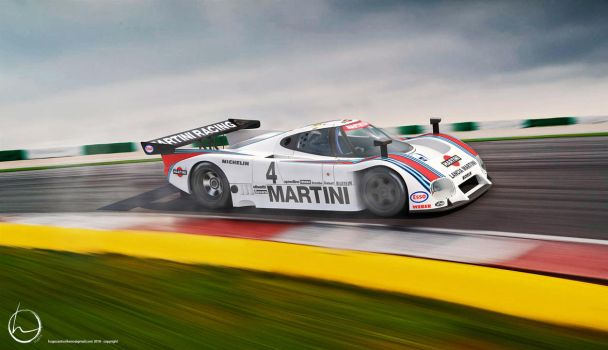 1985 Lancia LC2 Group C by melkorius