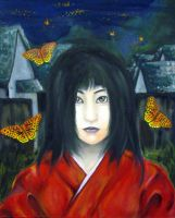 Crimson Butterfly by Raimu