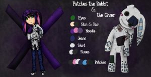 Horror Ref: Patches the Rabbit/The Giver-Old by CarillonNightmares