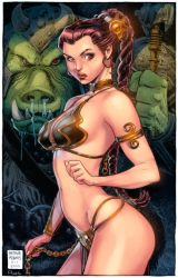 Slave Leia Colors by Arthur Adams by GiuliaPriori