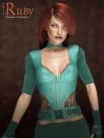 Freebie: ED's Girls Ruby (G3F) by Edheldil3D