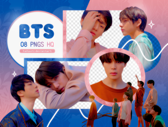 PNG PACK: BTS #54 (Love Yourself 'Tear' Y version) by Hallyumi