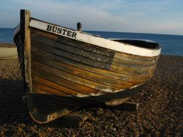 Buster The Boat by blackpixifotos