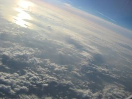 Plane clouds 01 by Party-Hat-Cat