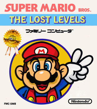 Super Mario Bros:The Lost Levels Boxart Recreation by geno2925
