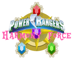 Power Rangers Harmony Force Logo by iamnater1225