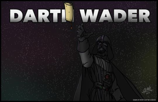Darth Wader by DawnofStuff
