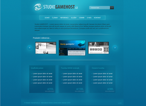 Studio GameHost design by swift20