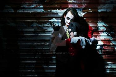 Cosplay: Joker x Harley by rafia