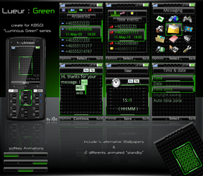 LUEUR - Green by i0d