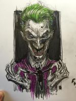 Joker by AlexRuizArt
