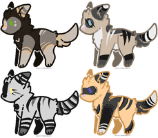 woof adopts (closed) by SanityFox