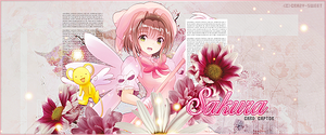 Sakura The Card Captor Banner by Crazy-Sweet