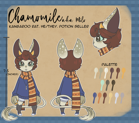[SONA] Milo's ref by teacuphat