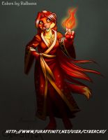 Colors by Ralloonx Redmight Weasel  Commission by lady-cybercat