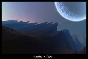 Pointing to Utopia by TastyOne