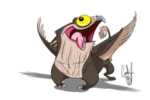 Potoo Gryphon by Gingco