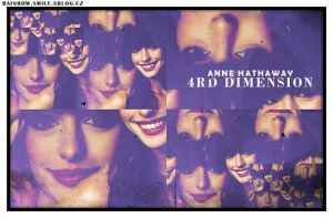 Anne Hathaway Collage by Seally
