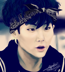 BTS SUGA by Hope-chan00