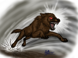 The Accursed Wolf Of Mibu by BillieJean485