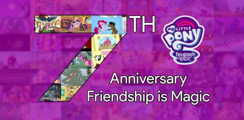 7th Anniversary Friendship is Magic by Hendro107