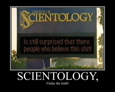 Scientology Motivational by PhyroFox1