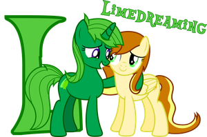 Lime Dream and Vanilla Sun by LimeDreaming