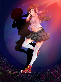 Hamuko - Persona 3 Dancing Moon Night by marisetteart