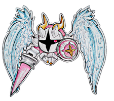 [Kirby] Galacta Knight by TheFroggyQueen