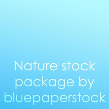 Nature stock package by bluepaperstock