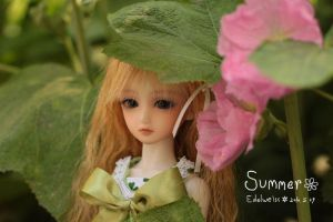 :BJD: Summer by RabbitonBooks