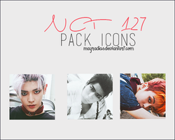 NCT 127 - Icons by mayradias
