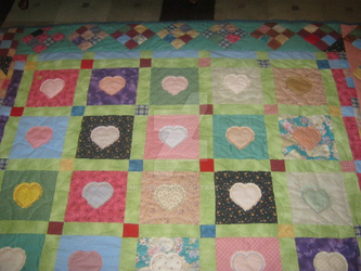 Heart Quilt by Michelay