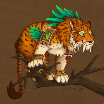 Nature's Fury Feral by Bear-hybrid