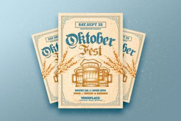 Oktoberfest flyer by RomeCreation