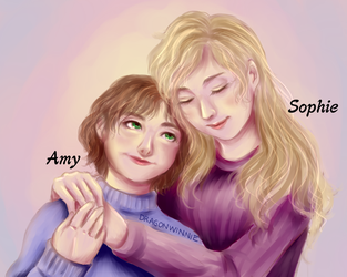 Sophie And Amy, the Foster Siblings (KOTLC) by DragonWinnie