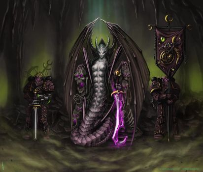 Warhammer: Court of Slaanesh by Soulfein