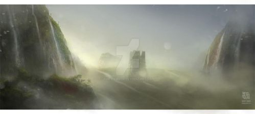 Speed Paint: Landscape by the-danzor