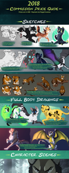 Commission Price Guide 2018 by Nightrizer
