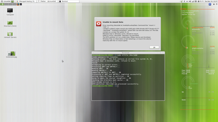 The issue is resolved NTFS LinuxMint16 by Linux4SA