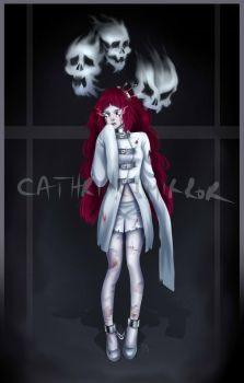 Auction (CLOSED) Adopt 53 - Ghost girl by cathrine6mirror