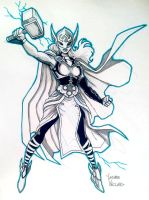 Jane Foster Thor NYCC Commission by LucianoVecchio