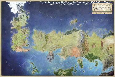 World Of Ice And Fire by torstan