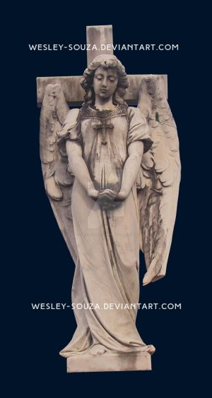 Statue angel PNG by Wesley-Souza